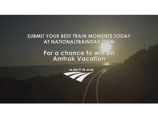More On a Train with Amtrak and National Train Day