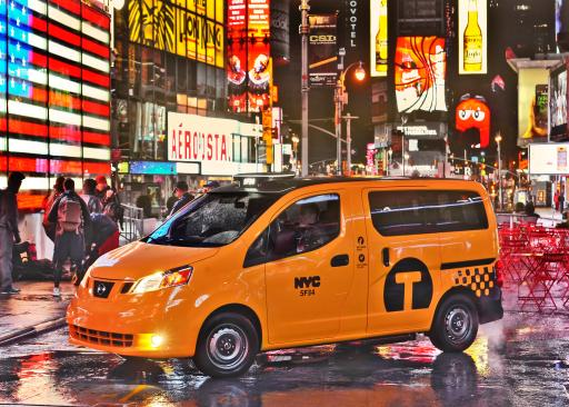 Nissan Taxi Times Square