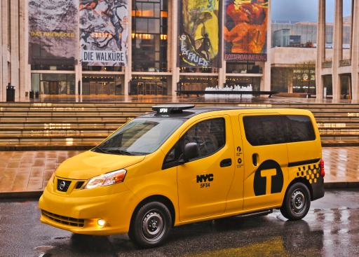 Nissan Taxi Lincoln Center