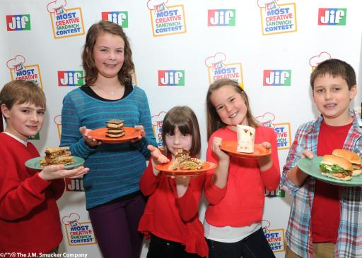 Jif® Most Creative Sandwich Contest™ Finalists