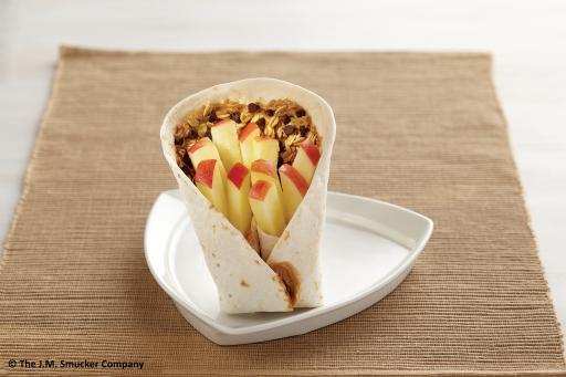 Apple Fries Peanut Butter Surprise!