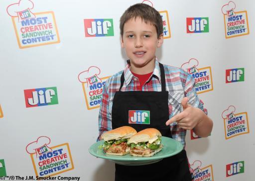 Jif® Most Creative Sandwich Contest™ Winner