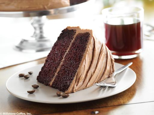 Millstone® Mocha Chocolate Cake with Butter Mocha Frosting