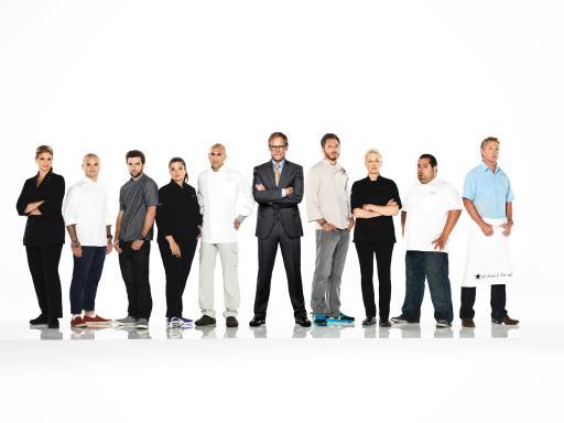 The Next Iron Chef Redemption Cast