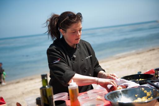 Alex Guarnaschelli cooking