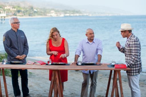 The Next Iron Chef Redemption Judges