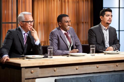Geoffrey Zakarian, Marcus Samuelsson and Aaron Sanchez