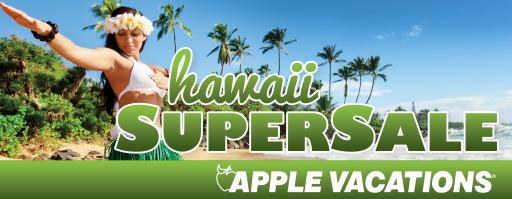 Apple Vacations' Hawaii SuperSale!