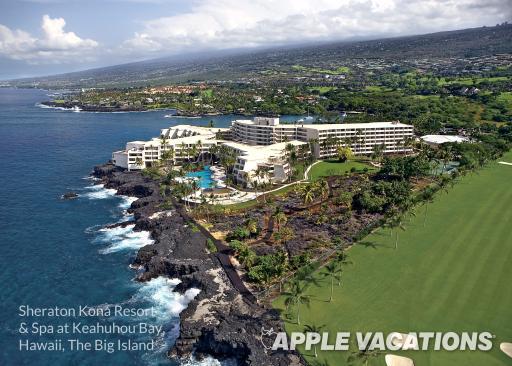 The Big Island: Sheraton Kona Resort & Spa at Keauhou Bay