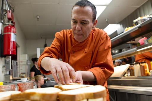 Gilbert Gottfried on Food Network's Rachael vs. Guy Celebrity Cook-Off