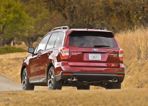2014 Subaru Forester Rear View