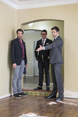 Property Brothers and Kennon Earl