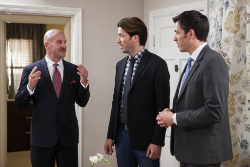 Real estate expert Mike Aubrey from HGTV's Power Broker is a guest judge on Brother vs. Brother.