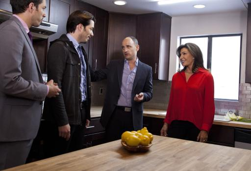 Real estate experts David Visentin and Hilary Farr