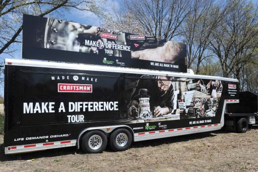 "Craftsman ""Make A Difference"" Tour"
