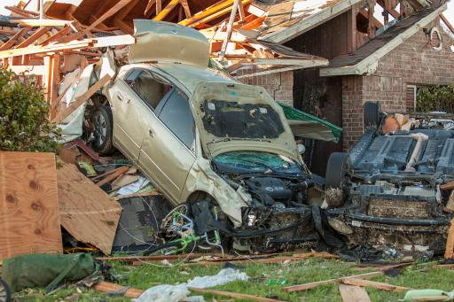 Tornado – Dallas tornado damage