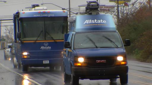 Response – Allstate's claim team on the road