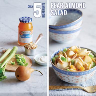 Smucker's® Pear Almond Salad
