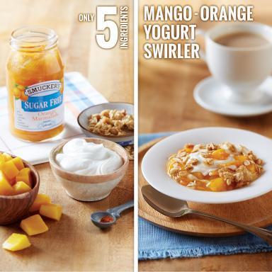 Smucker's® Mango-Orange Yogurt Swirler