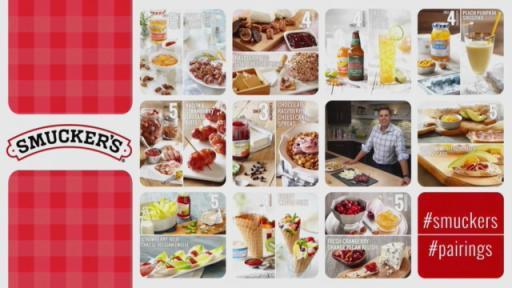 Chef Jon Ashton discusses Perfect Pairings made with Smucker's® Fruit Spreads