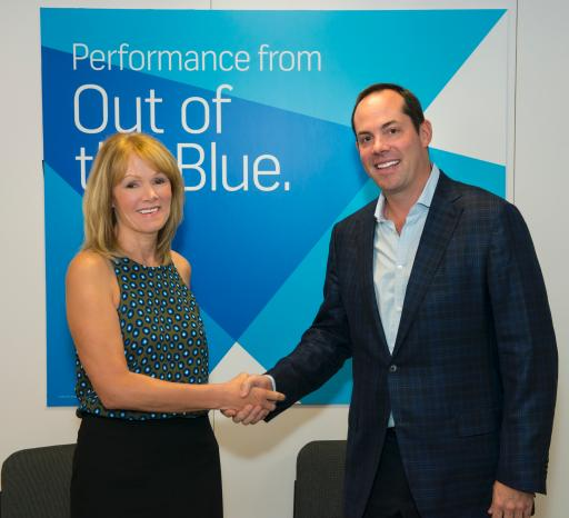 IGT CEO Patti Hart and Station Casinos EVP and CFO Marc Falcone Solidify Systems Agreement