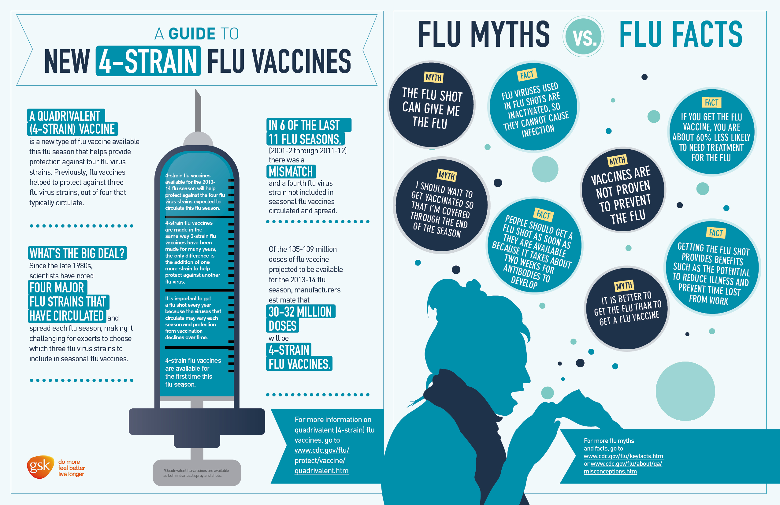 flu vaccination 2016 2017 infographic - HD 2550×1651