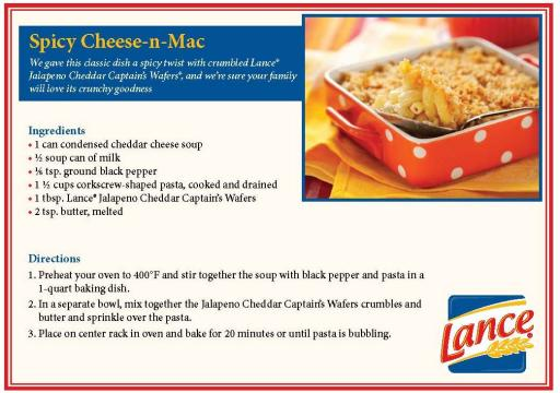 Lance® Spicy Mac N Cheese