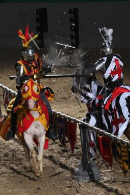 Experience the royal treatment at Medieval Times