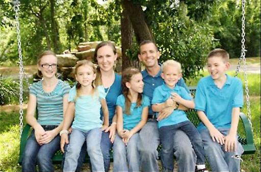 Stephen & Katie Stay, along with four children, were murdered by Ronald Lee Haskell. Photo: Facebook