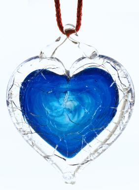 NGVAC - Blue Shattered Heart™ - universal symbol for sane gun laws