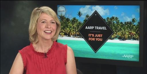 AARP Travel Ambassador Samantha Brown Video on Boomers Taking Celebration Vacations