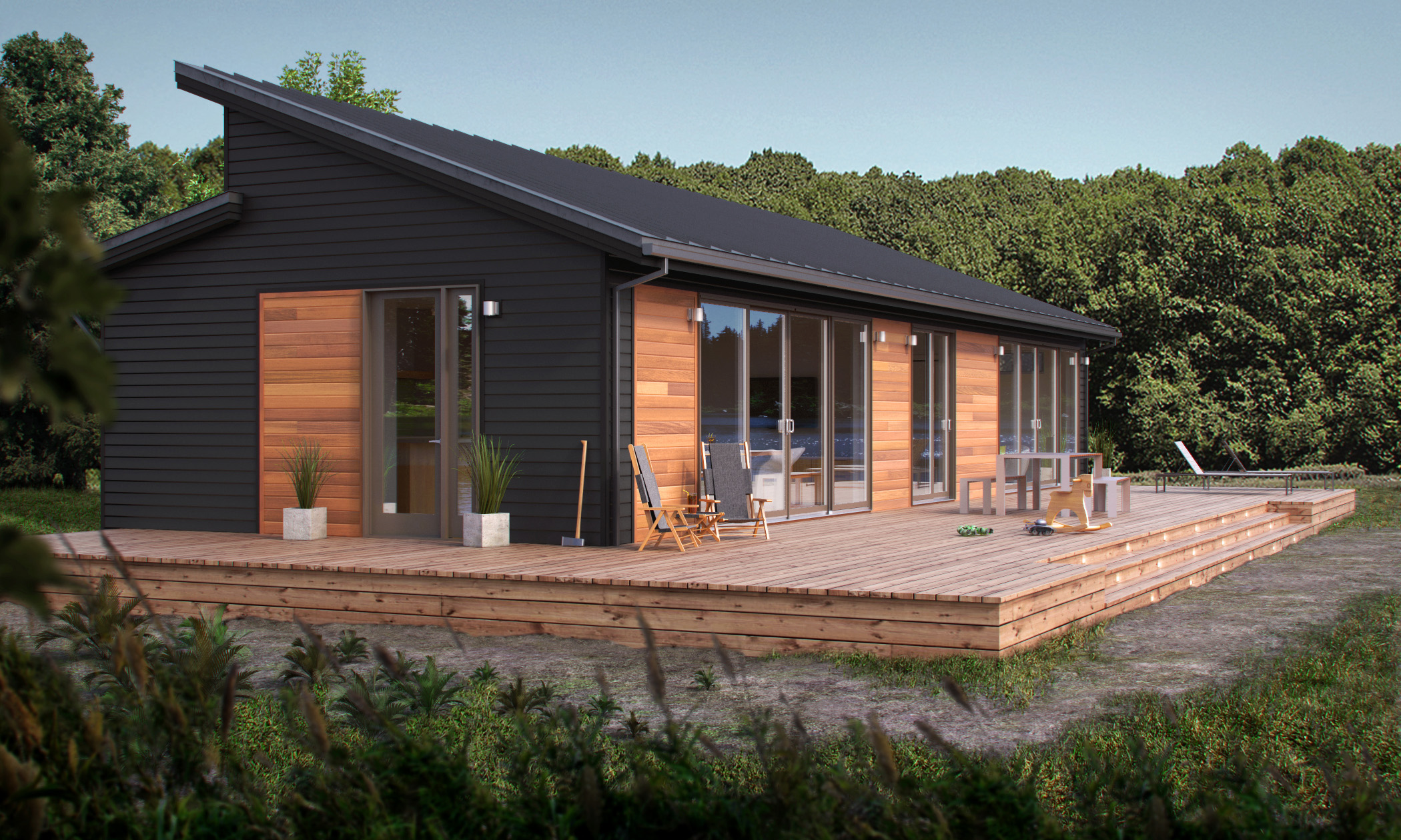 garage lighting ideas nz - Blu Homes' 2015 Product Line fers Enhanced Green
