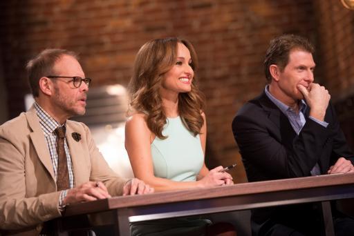 Alton Brown, Giada De Laurentiis and Bobby Flay on Food Network Star