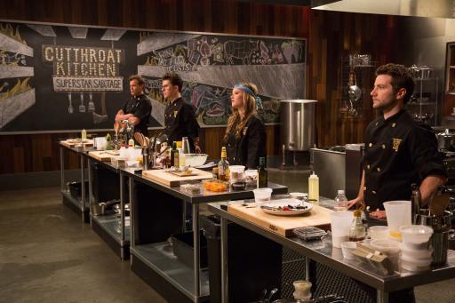 Cutthroat Kitchen: Superstar Sabotage Heat Two Contestants