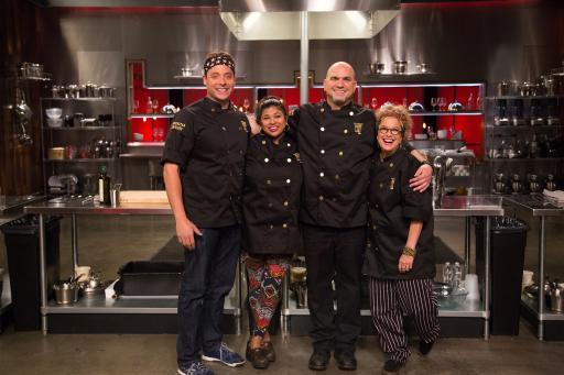 Cutthroat Kitchen: Superstar Sabotage Heat One Contestants