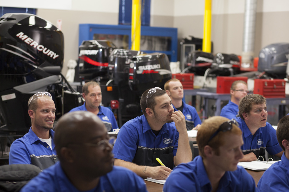 MMI is the only career technical education school in the country with which Mercury Marine is offering this certification program.