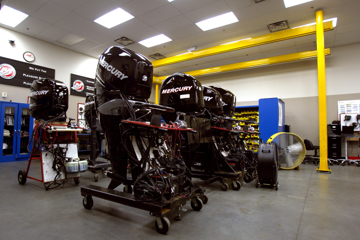 Marine Mechanics Institute Launches First Mercury Marine Technician Certification Program