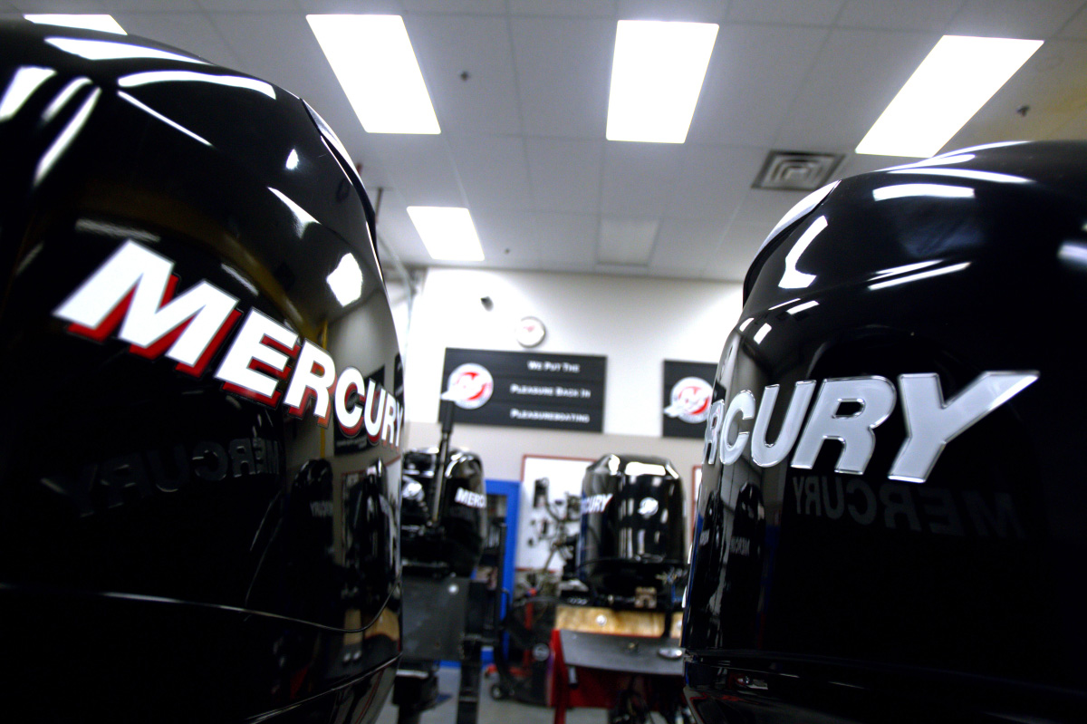 Beginning in April, Marine Technician Specialist program students can pursue and achieve provisional certification as factory-certified technicians for Mercury Marine outboard products.