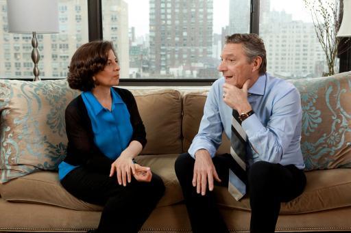My Healthy™ spokespeople Julie Morgenstern and Dr. Steven Lamm (2)