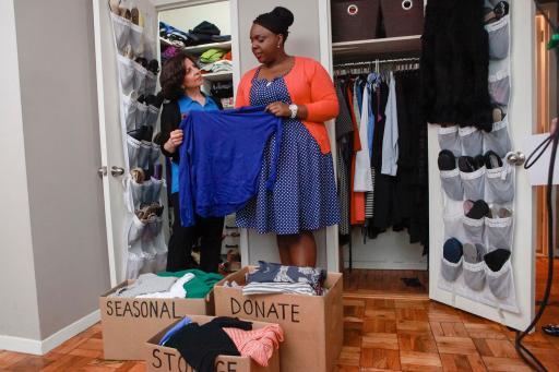 Julie Morgenstern helps CeCe liberate her closet
