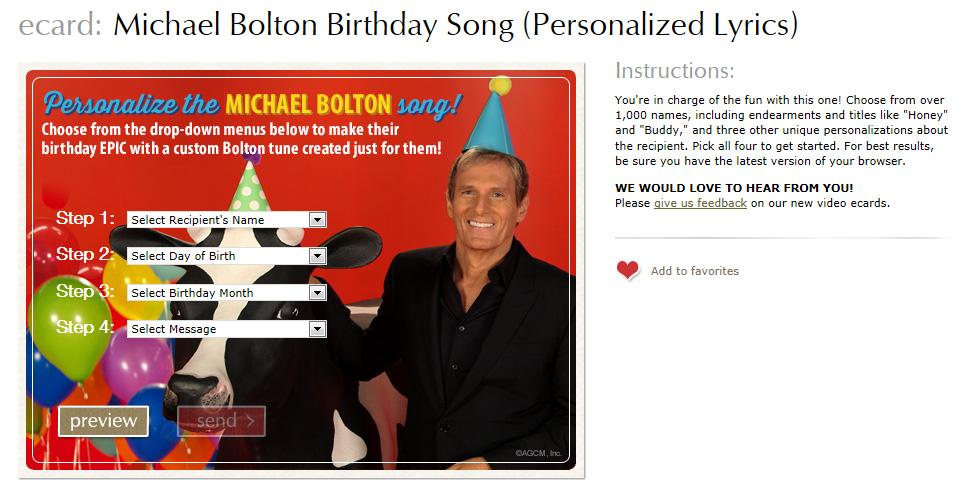 Lyric birthday song lyrics : Celebrate Birthdays in an Epic Way with New Michael Bolton Video ...