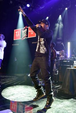 T.I. takes the Honda Stage at the iHeart Radio Theatre