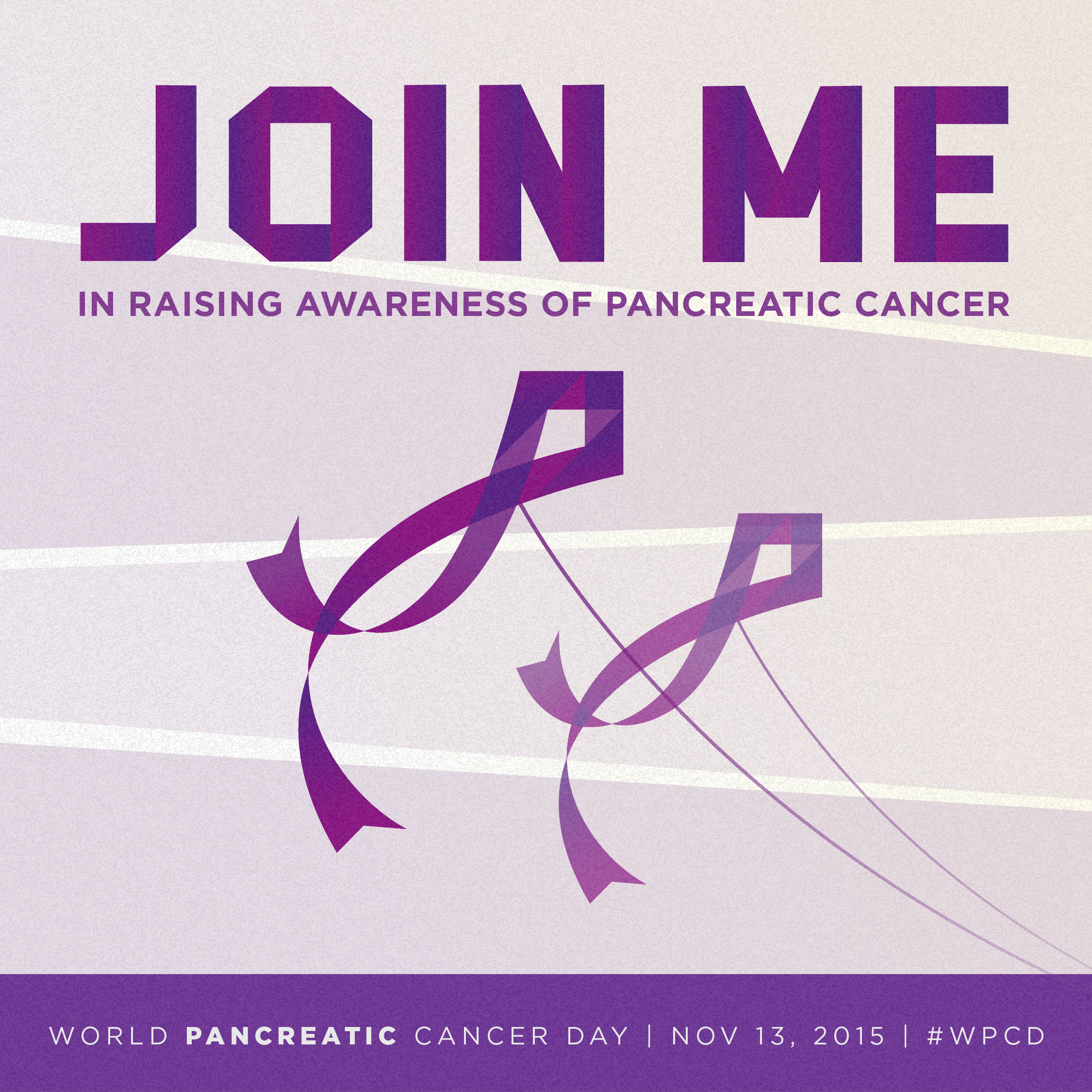 Everyone can get involved to raise awareness for pancreatic cancer.