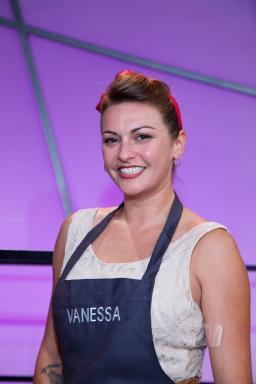 Contestant Vanessa Craig on Food Network's All-Star Academy