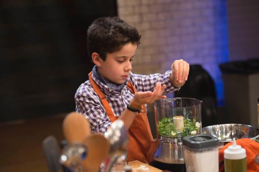 Kidtestant Nick Competes on Food Network's Rachael Ray's Kids Cook-Off
