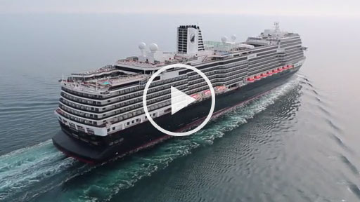 ms Koningsdam Aerial Video