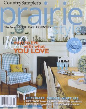 Fifi O'Neill Prairie Style Magazine, Cover Photo: Mark Lohman