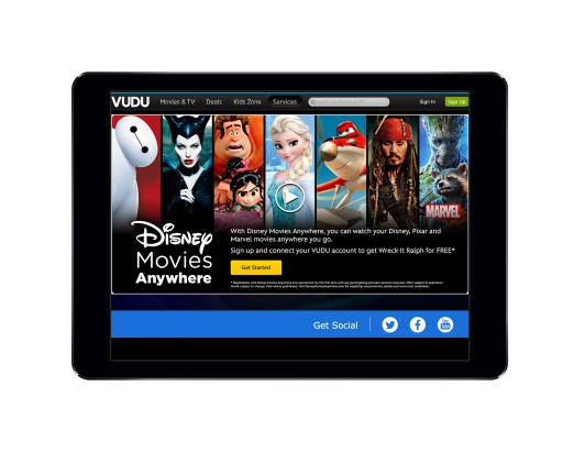 Catch Disney, Marvel & Pixar movies anywhere you go with Disney Movies Anywhere. Now works with VUDU