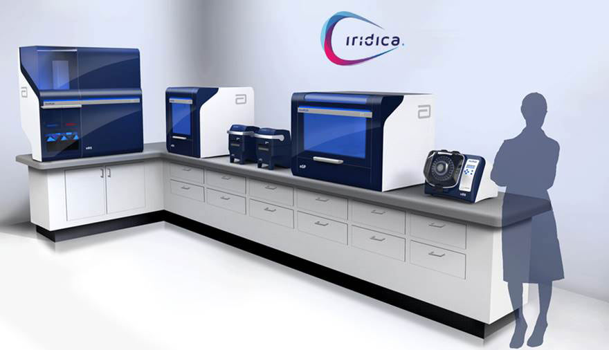 Abbott's pioneering, infectious disease testing platform, IRIDICA, is now available in Europe and other CE-Mark recognized countries.