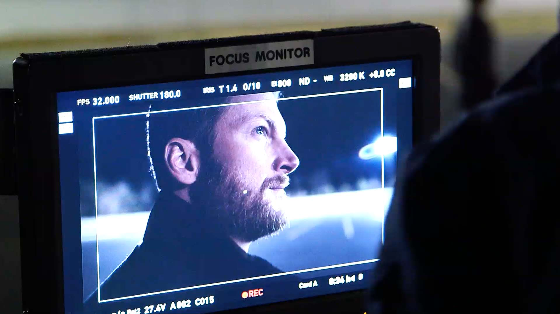 Dale Jr. films his first Goodyear commercial, 'Made.' Through a new relationship, the NASCAR star will serve as the featured expert who chooses Goodyear tires on and off the track.